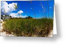 Casey Key Beach Access Walkway Greeting Card