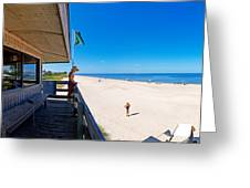 Casey Key Life Guard Tower Greeting Card