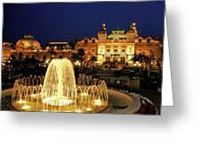 Casino De Monte Carlo-circa 2005 Greeting Card