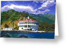 Casino From The Water Greeting Card