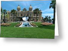 Casino Of Monaco Greeting Card