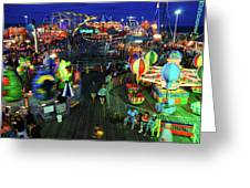 Casino Pier At Seaside Heights Greeting Card