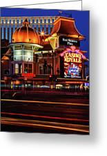 Casino Royale Greeting Card
