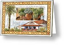 Casino San Clemente Greeting Card
