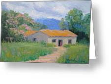 Casita De Campo Greeting Card