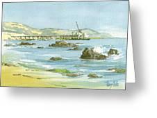 Casitas Pier II Greeting Card