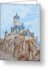 Castle On The River Rhine Greeting Card