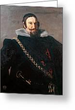 Caspar De Guzman Count Of Olivares Diego Rodriguez De Silva Y Velazquez Greeting Card