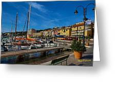 Cassis Greeting Card