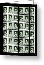 Cassius Clay World Champion Stamp Greeting Card