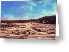 Castalia Quarry Reserve Dreamscape Greeting Card
