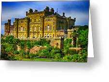 Castell De Culzean Greeting Card