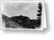 Castellane, France On The Route Napoleon Greeting Card