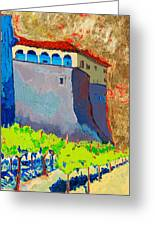 Castello Di Villafranca Greeting Card