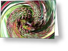 Caster Bean Abstract Greeting Card