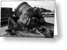 Castillo Cannon Greeting Card