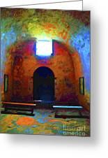 Castillo De San Marcos Chapel Greeting Card