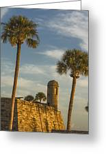 Castillo De San Marcos Dawn II Greeting Card