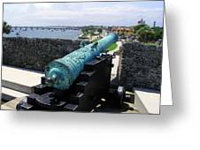 Castillo De San Marcos In St Augustine Florida Greeting Card