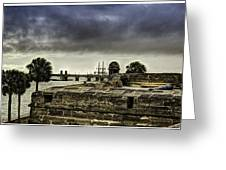 Castillo De San Marcos Greeting Card