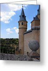 Castillo De Segovia Greeting Card