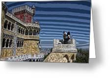 Castle 0f Lurid Dreams Greeting Card