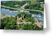 Castle At Glen Island Greeting Card