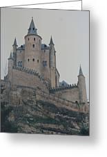 Castle At Segovia Greeting Card