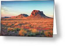 Castle Butte Greeting Card