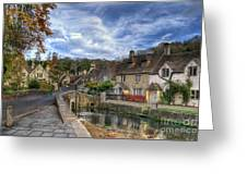 Castle Combe England Greeting Card