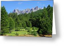 Castle Crags Greeting Card