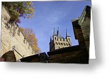 Castle From Afar Greeting Card