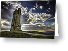 Victoria Tower Castle Hill Huddersfield 1 Greeting Card