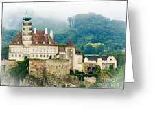 Castle In The Mist Greeting Card