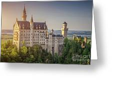 Castle In The Sun Greeting Card