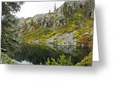 Castle Lake  Greeting Card