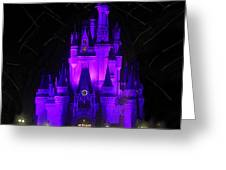 Castle Of Cinderella Greeting Card
