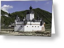 Castle Pfalz Greeting Card