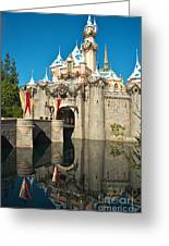 Castle Reflection Greeting Card