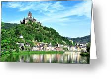 Castle Reichsburg Greeting Card