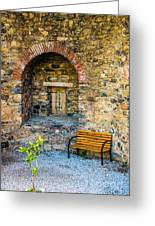 Castle Rest Greeting Card