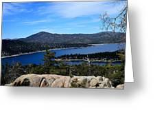 Castle Rock - Big Bear, Ca Greeting Card