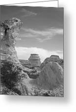 Castle Rock Rock Formation Greeting Card