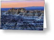 Castle Rock Sunset Greeting Card