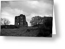 Castle Ruin Greeting Card