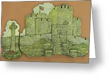 Castle Rushen Greeting Card