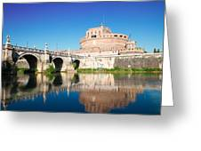 Castle St Angelo Greeting Card