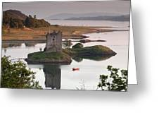 Castle Stalker Greeting Card