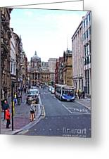 Castle Street - Liverpool Greeting Card