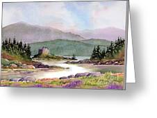 Castle Tioram  Greeting Card
